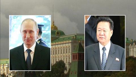 Tổng thống Nga tiếp đặc sứ Bắc Triều Tiên