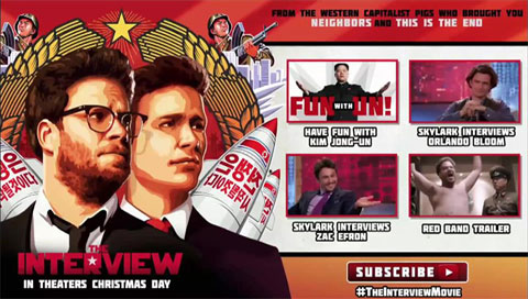 """Sony Pictures Cancels Release of """"The Interview"""""""