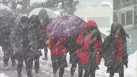 この冬一番の冷え込み 一部地域に寒波警報