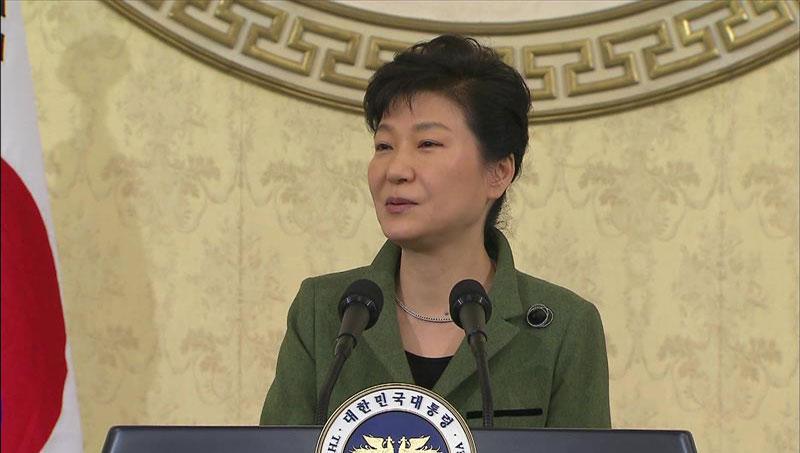 朴大統領 「新たな覚悟で経済革新・統一基盤を」