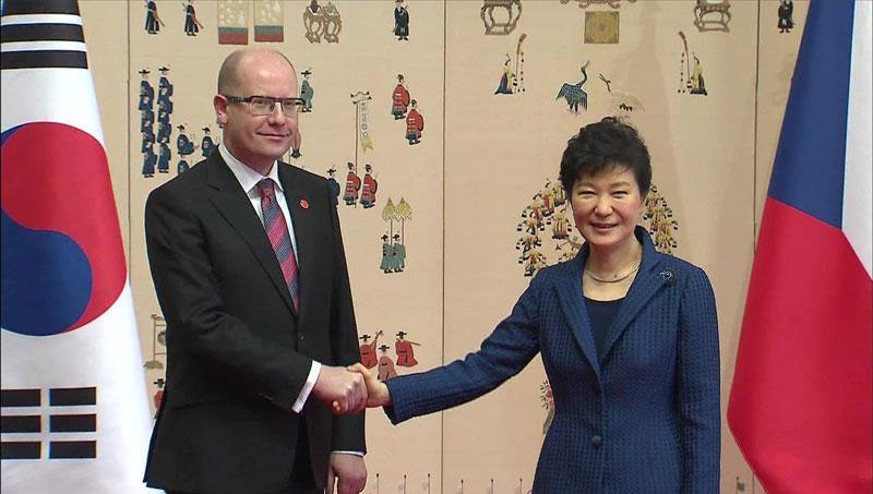 Korea Selatan - Republik Ceko bangun kemitraan strategis pada pertemuan puncak  Seoul