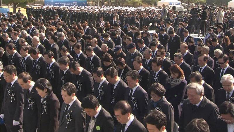 Peringatan 5 tahun tenggelamnya kapal Cheonan