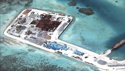 中国の人工島建設問題 米、友好国に共同対応求める