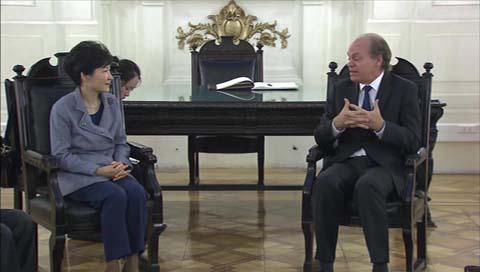 Park y Bachelet disertan sobre oportunidades para jóvenes emprendedores