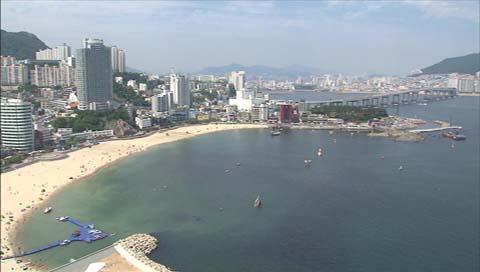 Lokasi renang pantai Busan dibuka