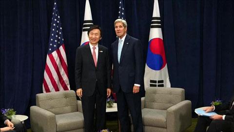 S. Korea, US Reaffirm Partnership Before Park-Xi Talks
