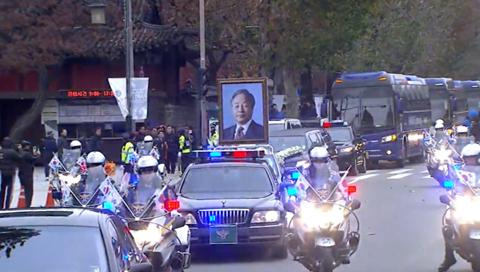 Staatsbegräbnis für Ex-Präsident Kim durchgeführt