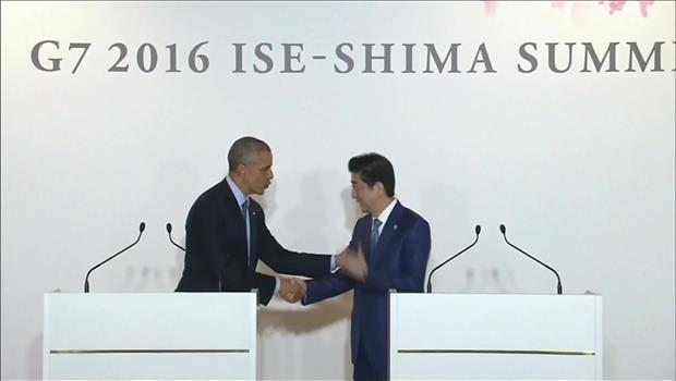 Obama und Abe vereinbaren Verstärkung von Abschreckungsfähigkeit gegen Nordkorea