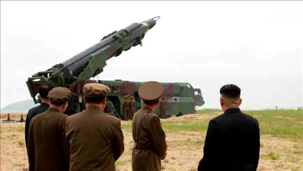"""北韩宣称试射""""舞水端""""弹道导弹成功"""