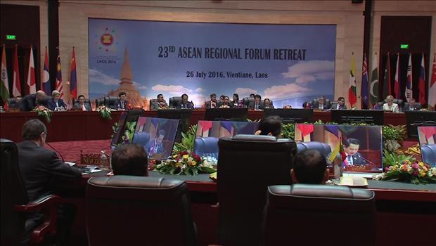 东盟地区论坛发表主席声明 对北韩核试验与发射导弹表示担忧