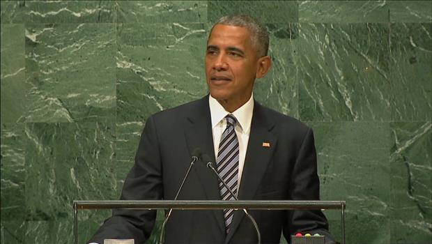 オバマ米大統領 「世界は脅威にさらされた」