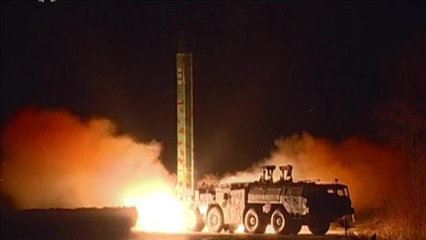 Kendaraan Peluncur Rudal Musudan Terbakar Saat Peluncuran