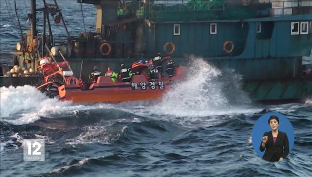 Fewer Chinese Fishing Boats Illegally Operate in S. Korean Waters