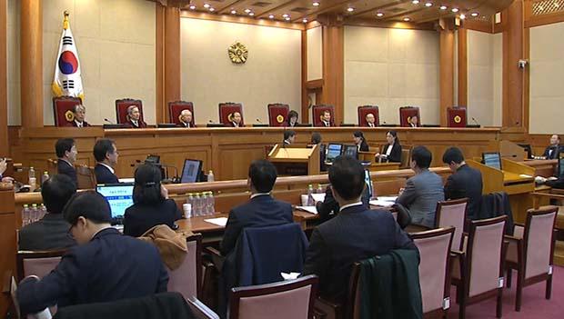 憲法裁で最終弁論 罷免可否の判断は2週間後か
