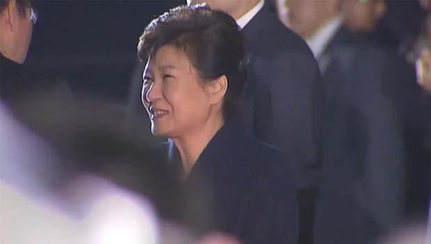 Ex-Präsidentin Park verlässt Präsidentensitz