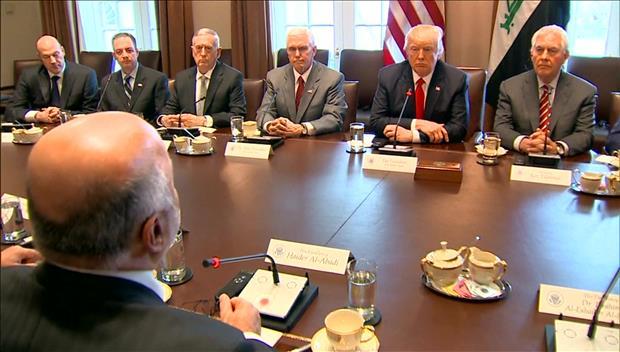 Президент США обсудил с госсекретарём Рексом Тиллерсоном ситуацию на Корейском полуострове