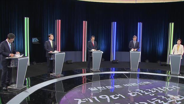 Présidentielle : débat particulièrement houleux entre les 5 principaux candidats