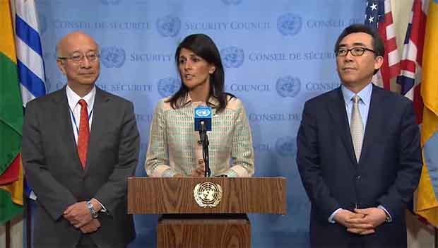 UNSC Condemns N. Korea's Ballistic Missile Launch