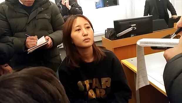 Choi Soon-sils Tochter verzichtet auf Berufung gegen Auslieferungsantrag