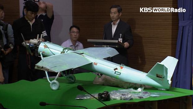 Confirman que el dron encontrado en Inje es norcoreano