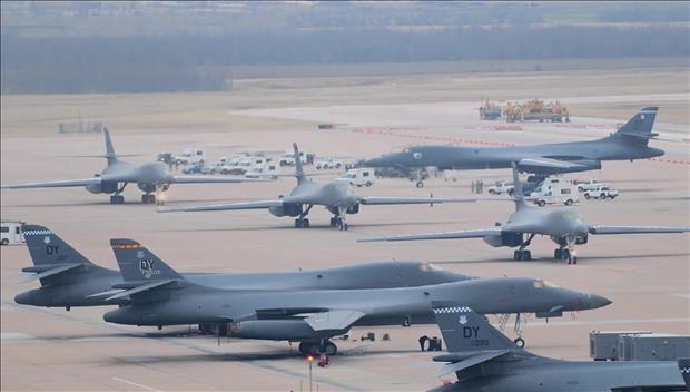 戦略爆撃機の飛行 北韓は探知できず