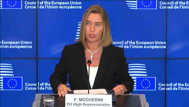 EU Foreign Policy Chief to Discuss N. Korea with FM Kang