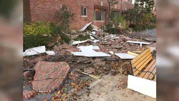 韩国浦项市发生5.5级地震