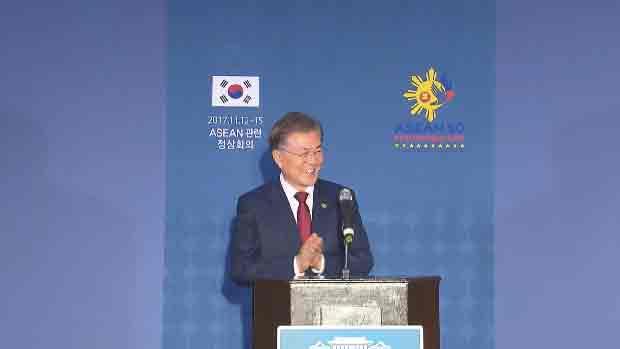 Präsident Moon beendet Südostasienreise