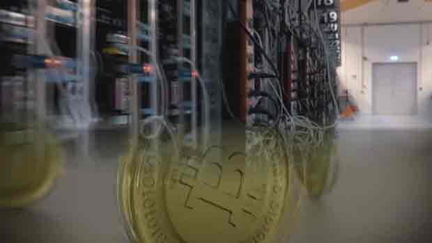 Стоимость биткоина резко упала