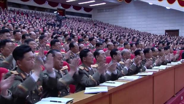 北韩20日召开劳动党第七届中央委员会第三次全体会议