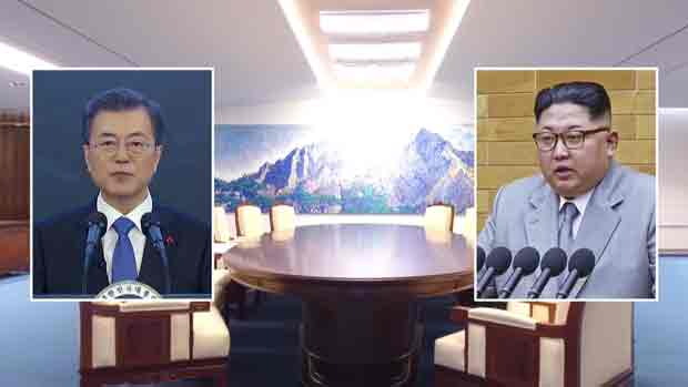 南北韩首脑27日上午9时30分首次会面 会谈结束后公布协议内容