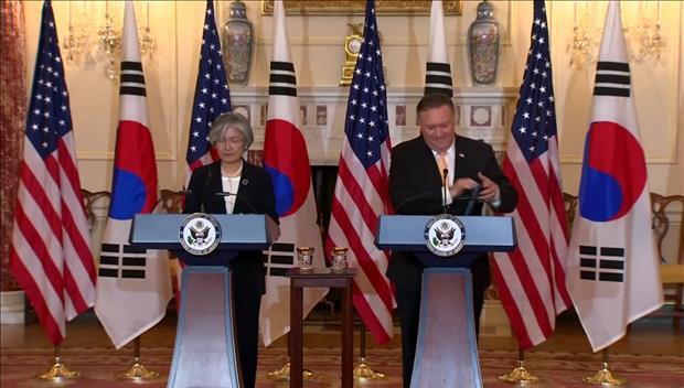 Les chefs de la diplomatie sud-coréenne et américaine réaffirment leur détermination à coopérer