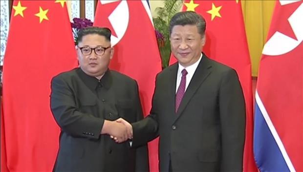 Troisième sommet en Chine entre Kim Jong-un et Xi Jinping