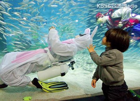 Les animaux en Corée du Sud