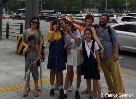 Une famille française en Corée
