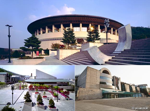 Cinq grands parcs de Séoul