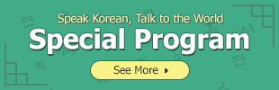 Speak Korean Talk to the World