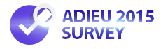 Adieu 2015 Survey