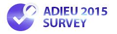 Adieu 2015 Survey