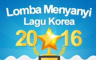 LOMBA MENYANYI LAGU KOREA 2016