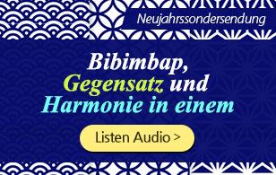 Bibimbap, Gegensatz und Harmonie in einem