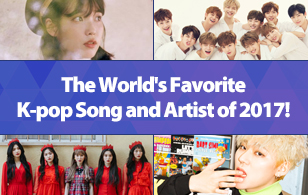 The World's Favorite K-pop Song and Artist of 2017!