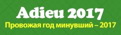 Adieu 2017 Провожая год минувший – 2017