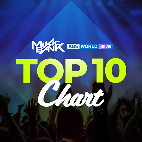 K-Pop Top Ten Chart