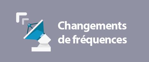 Changement de fréquence européenne