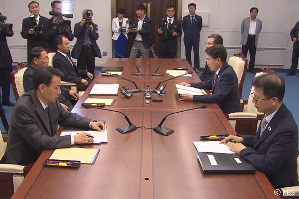 محادثات الكوريتين حول ربط السكك الحديدية