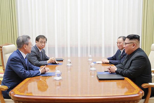 Sommet entre Moon Jae-in et Kim Jong-un à Pyongyang