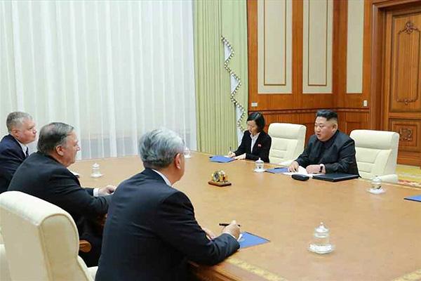نتائج زيارة وزير الخارجية الأمريكي إلى بيونغ يانغ