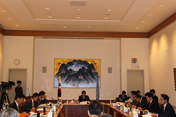 비핵화 협상과 대북제재에 관한 한국 정부의 입장
