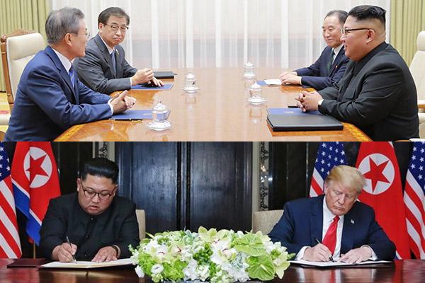 Die dramatische Entwicklung auf der koreanischen Halbinsel 2018